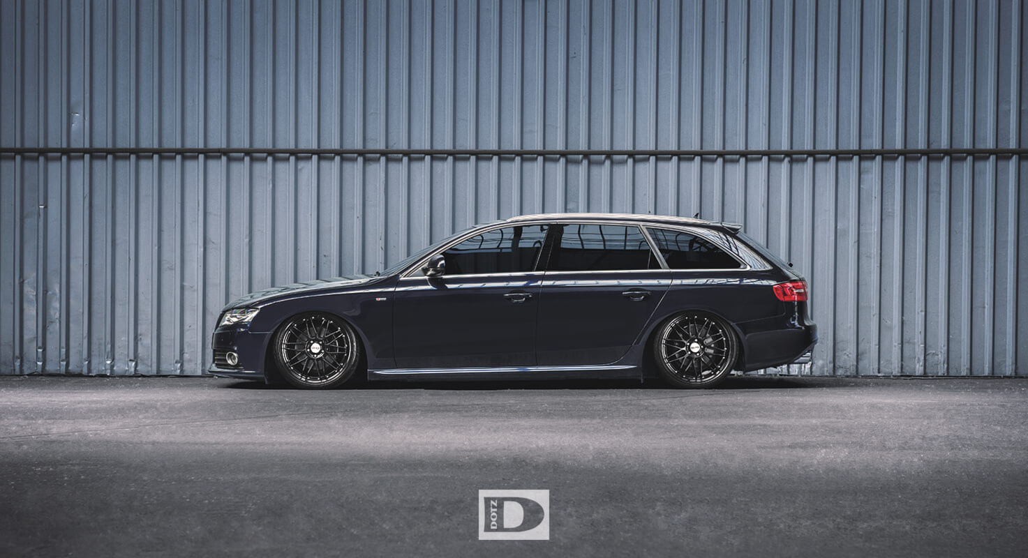 Audi A4 With Dotz Revvo Black Edt Dotz Tuning Wheels